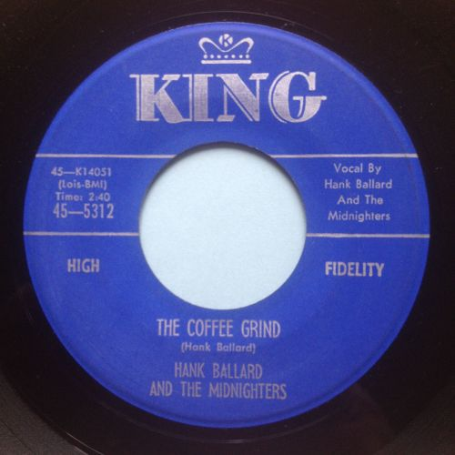 Hank Ballard - The Coffee Grind - King - Ex