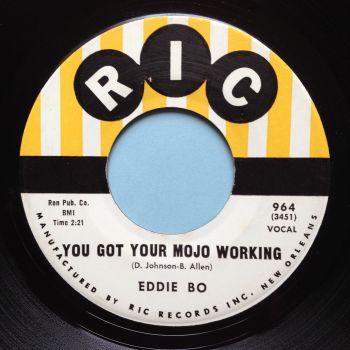 Eddie Bo - You got your mojo working - RIC - Ex