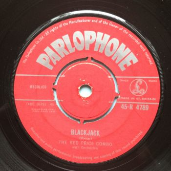 "Red Price Combo - Blackjack b/w Theme from ""Danger Man"" - U.K. Parlophone - Ex-"
