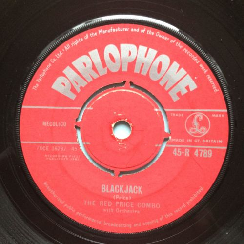 Red Price Combo - Blackjack b/w Theme from