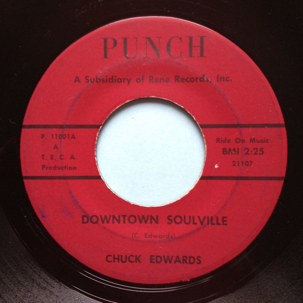Chuck Edwards - Downtown Soulville - Punch - VG+