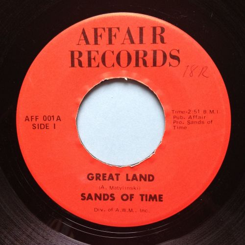 Sands of Time - Great Lands - Affair - VG+