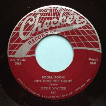 Little Walter - Boom, Boom, out go the lights - Checker - Ex