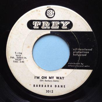 Barbara Dane - I'm on my way - 3 Trey promo - VG+