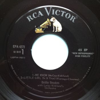 Bobby Brookes - Little Girl (Is it true) - RCA EP - Ex