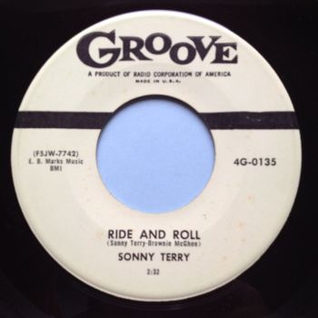 Sonny Terry - Ride & Roll - Groove - Ex