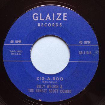 Billy Wilson & Ernest Scott Combo - Zig-a-boo - Glaize - VG+