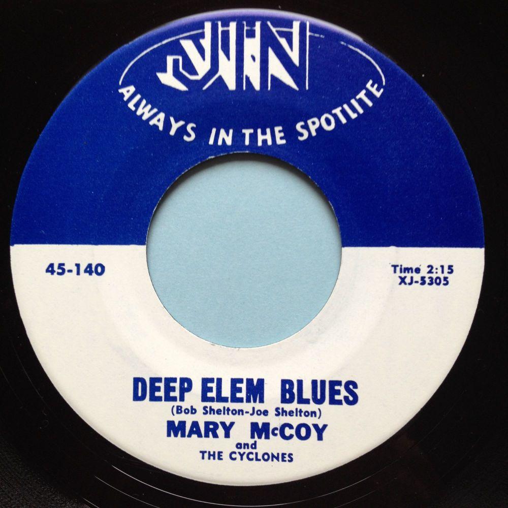 Mary McCoy - Deep Elem Blues - Jin - M-