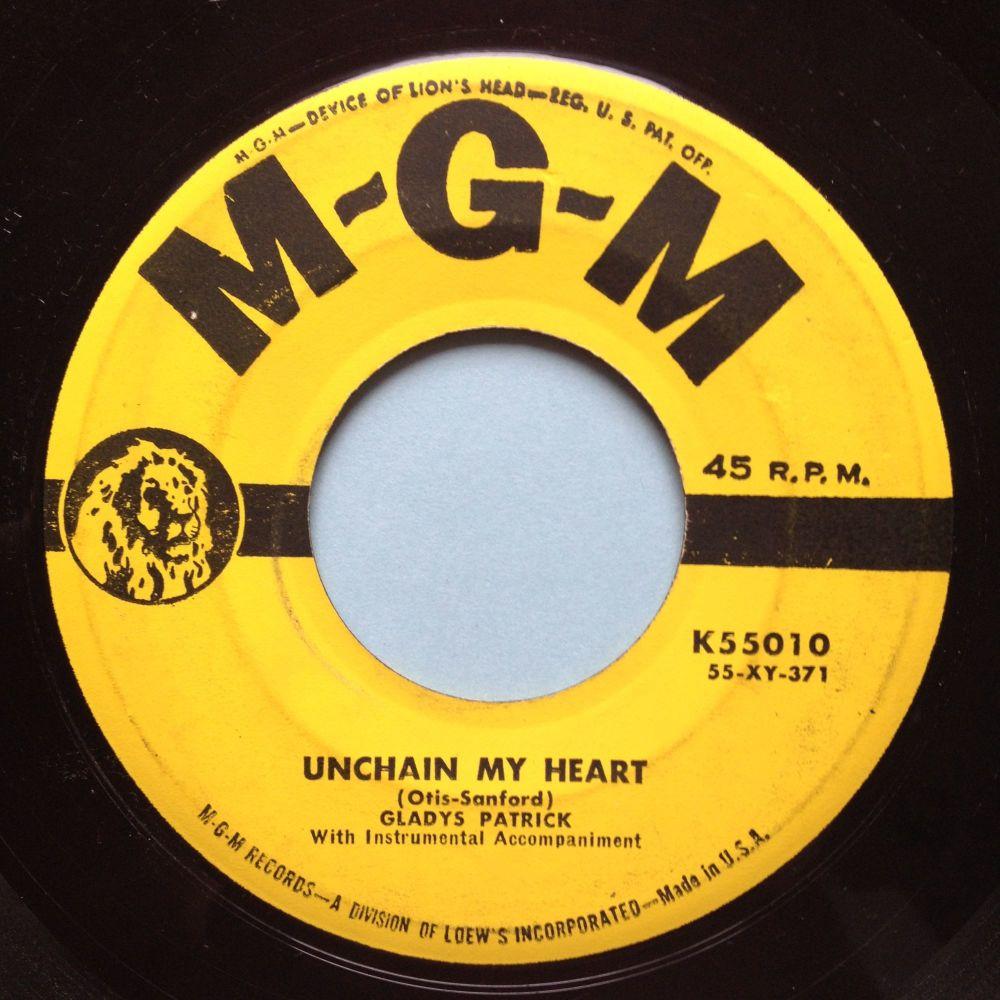 Gladys Patrick - Unchain my heart - MGM - VG+
