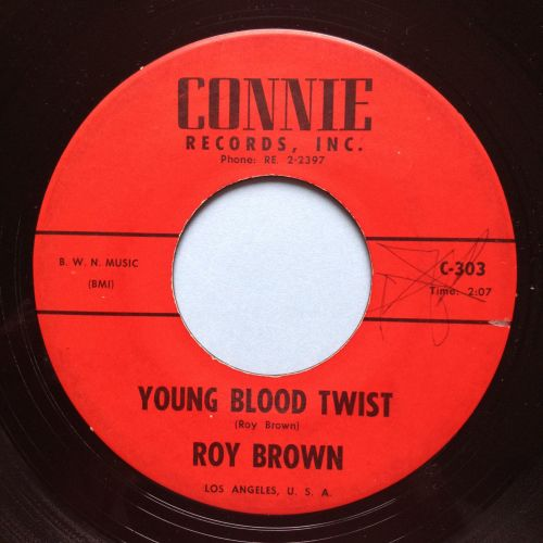 Roy Brown - Young Blood Twist - Connie - VG+