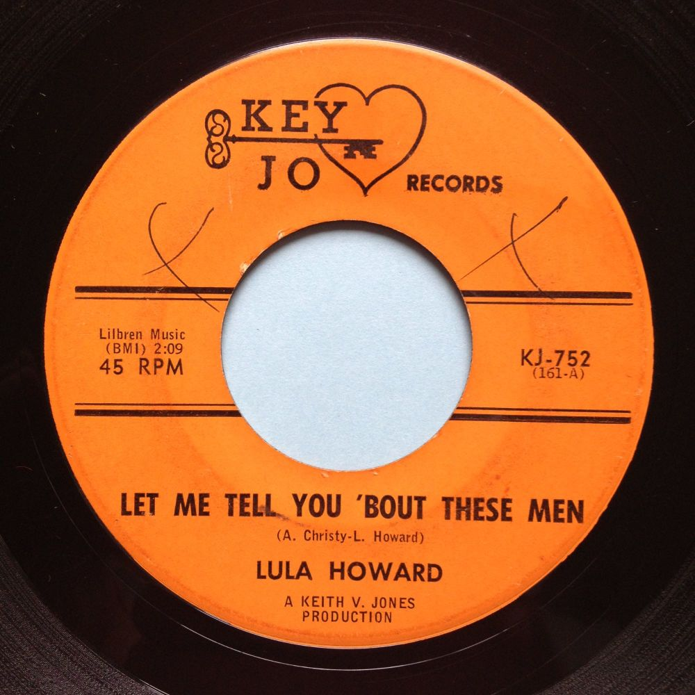 Lula Howard - Let me tell you 'bout these men - Key Jo - VG+