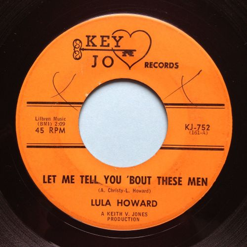 Lula Howard - Let me tell you 'bout these men - Key Jo - VG+