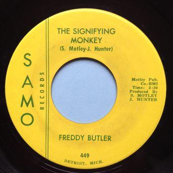 Freddy Butler - The Signifying Monkey - Samo - Ex