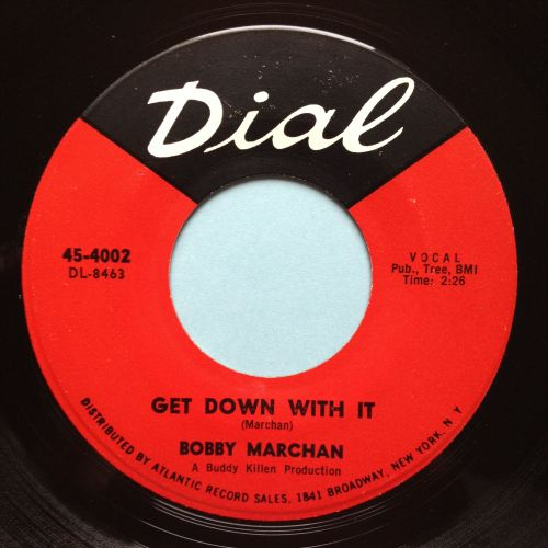 Bobby Marchan - Get down with it - Dial - Ex