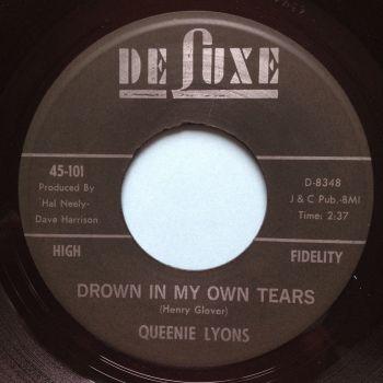 Queenie Lyons - Drown in my own tears - Deluxe - Ex