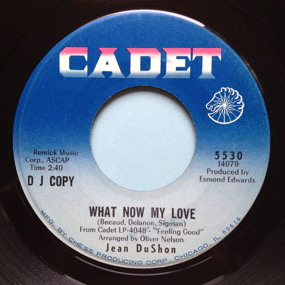 Jean Dushon - What now my love - Cadet promo - Ex