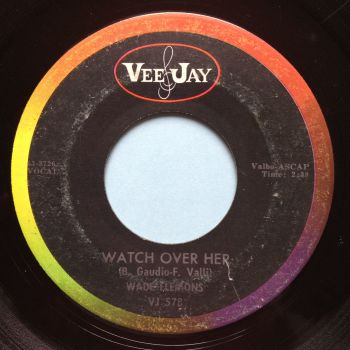 Wade Flemons - Watch over her - Vee-Jay - Ex-