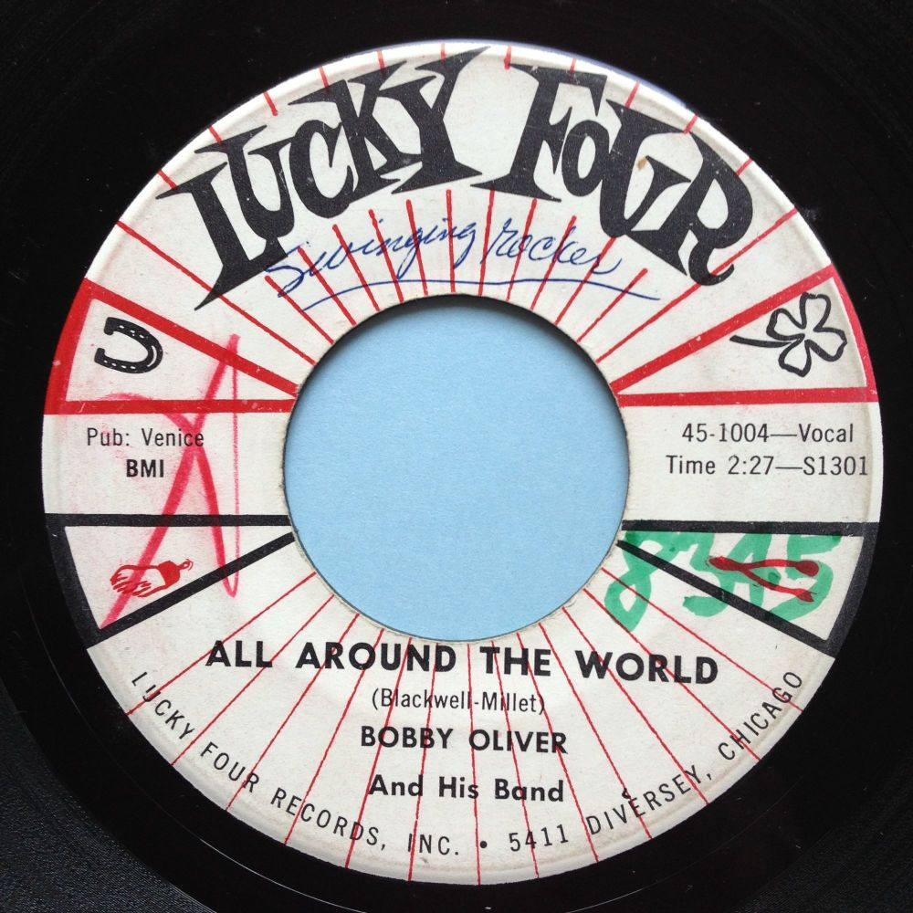 Bobby Oliver - All around the world - Lucky Four - Ex- (wol)