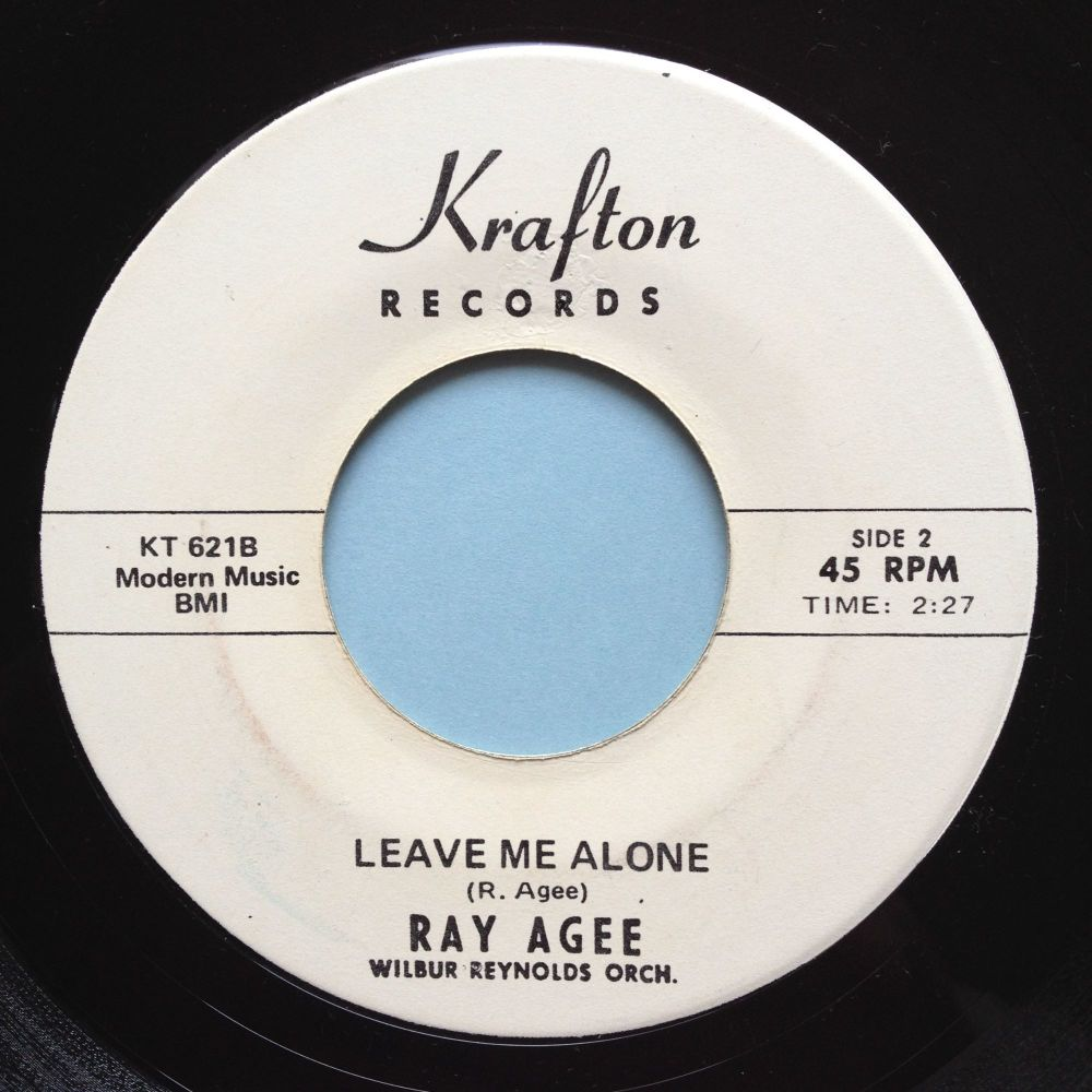 Ray Agee - Leave me alone - Krafton promo - Ex-