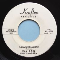 Ray Agee - Leave me alone - Krafton promo - Ex-