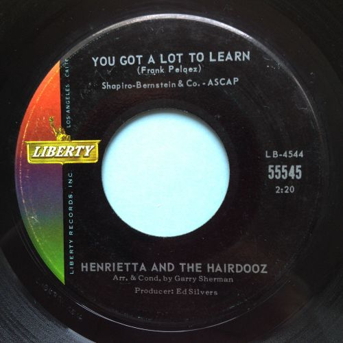 Henrietta and the Hairdooz - You got a lot to learn - Lierty - Ex