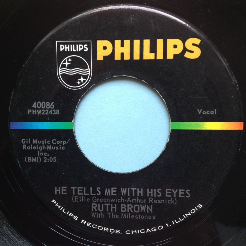 Ruth Brown - He tells me with his eyes - Philips - Ex