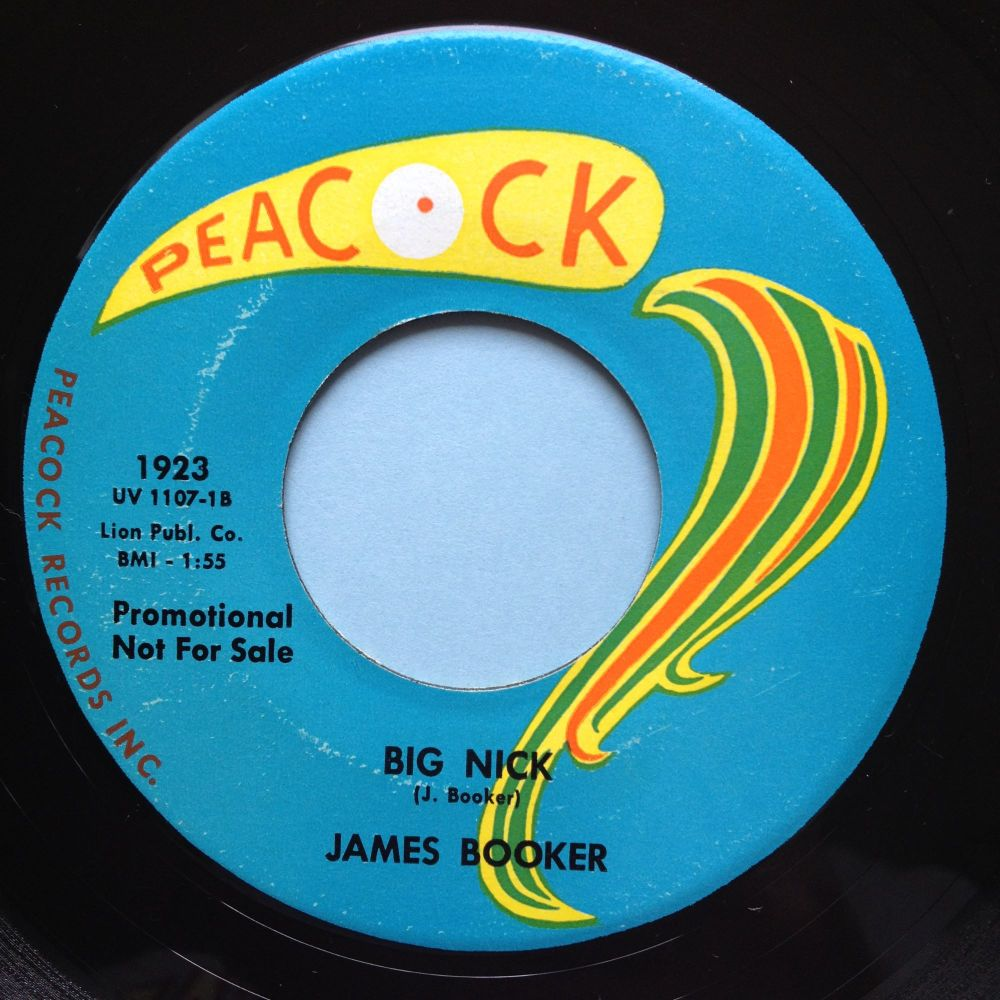 James Booker - Big Nick - Peacock - Ex