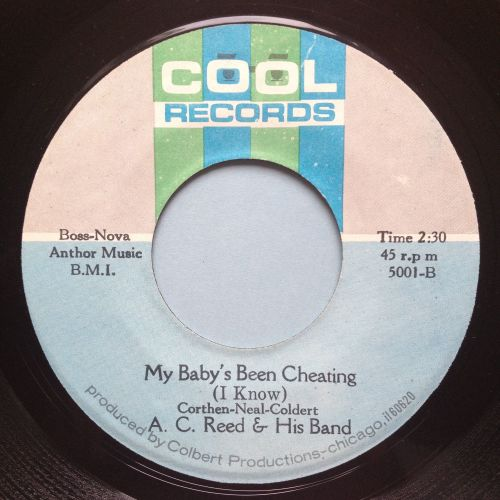 A C Reed - My baby's been cheating - Cool - Ex
