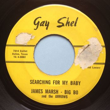 James Marsh with Big Bo and the Arrows - Searching for my baby - Gayshell - VG+