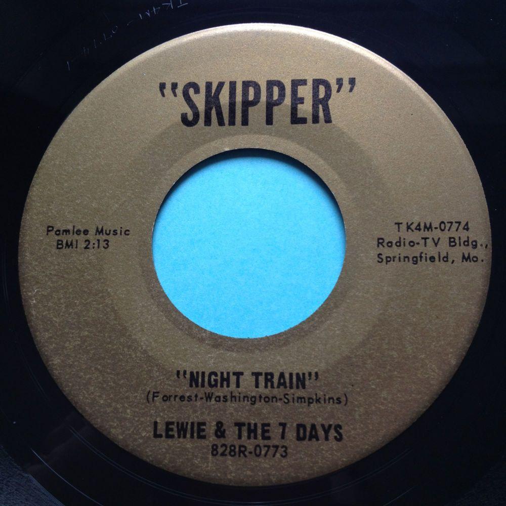 Lewie & The 7 Days - Night Train - Skipper - Ex
