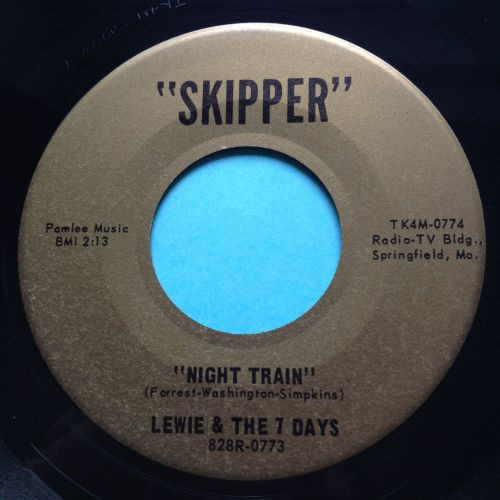 Lewie & The 7 Days - Night Train - Skipper - Ex