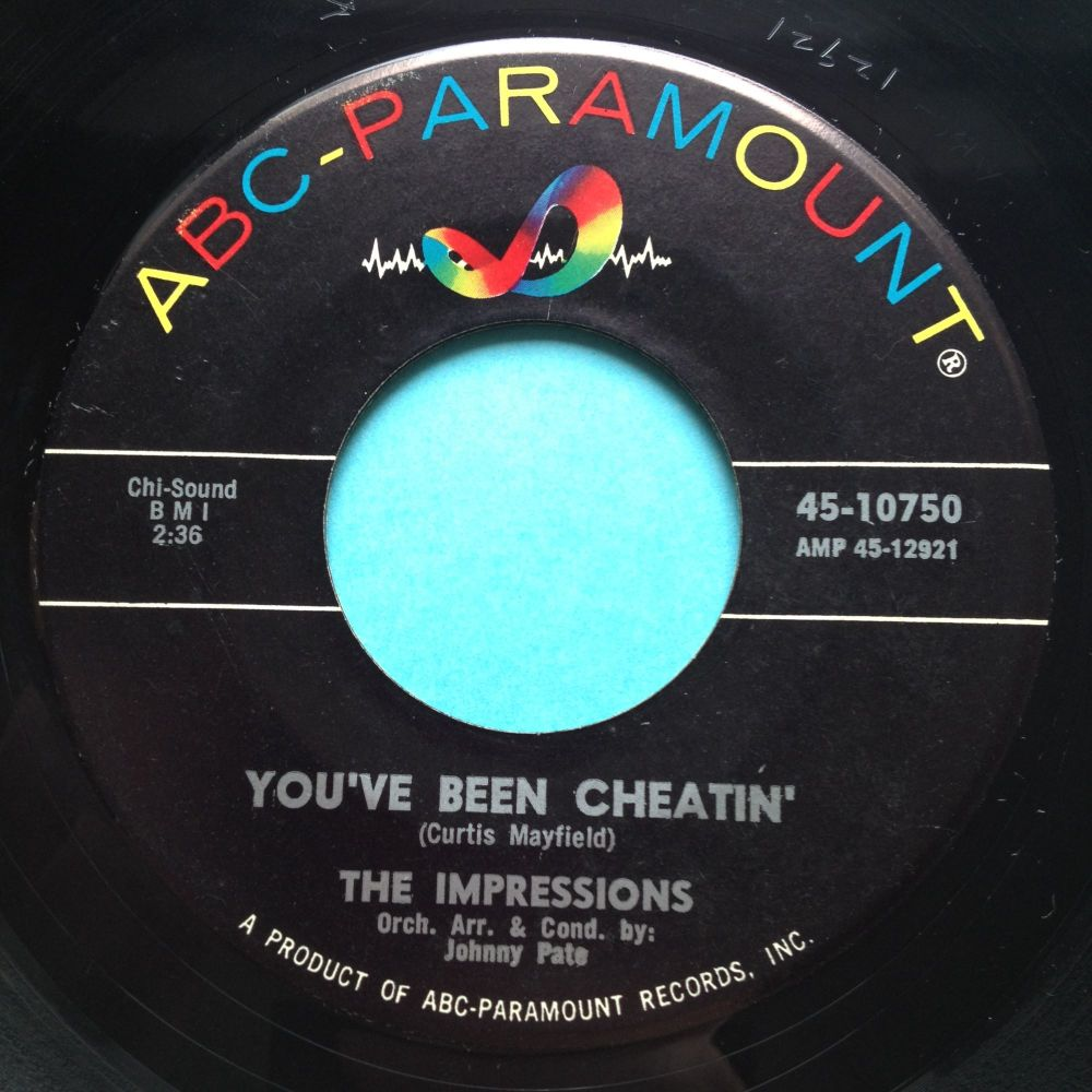 Impressions - You've been cheatin' - ABC - Ex