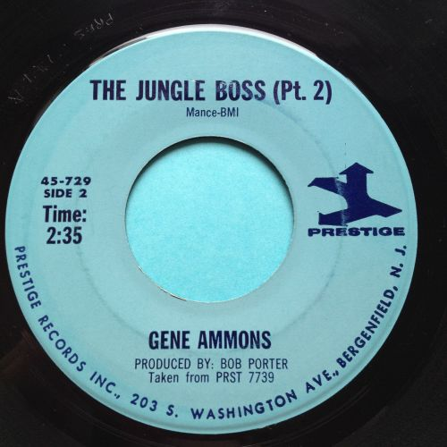 Gene Ammons - The Jungle Boss Pt.2 - Prestige - Ex
