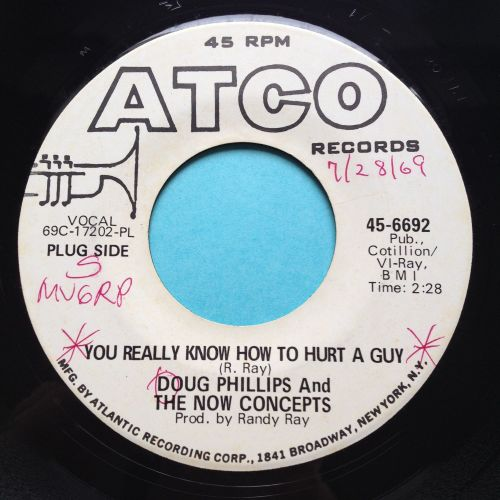 Doug Phillips - You really know how to hurt a guy - Atco promo - Ex- (wol)