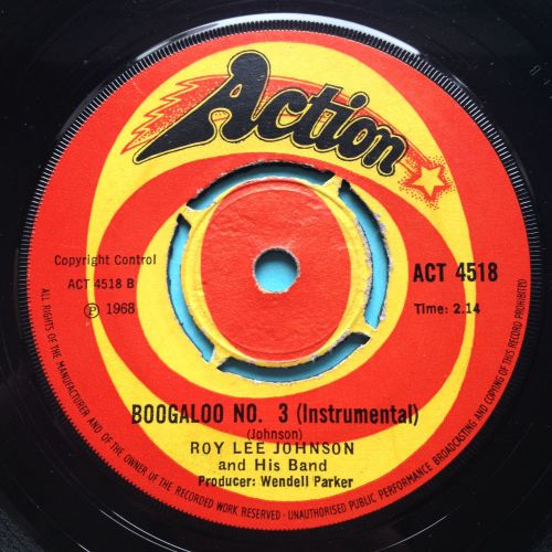 Roy Lee Johnson - Boogaloo No. 3 - UK Action - Ex-