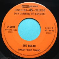Tommy Wills Combo - The Break - Seeburg Discotek - Ex