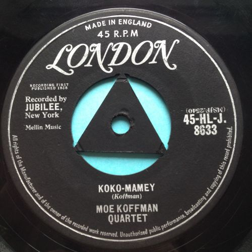 Moe Koffman Quartet - Koko-Mamey - UK London - Ex