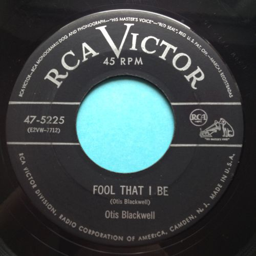 Otis Blackwell - Fool that I be - RCA - VG+
