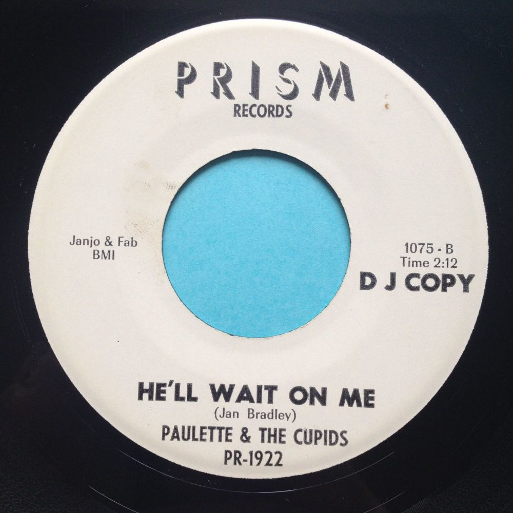Paulette and the Cupids - He'll wait on me - Prism promo - Ex