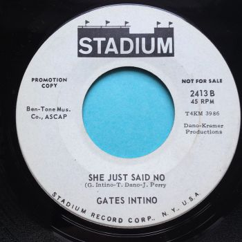 Gates Intino - She just said no - Stadium promo - Ex