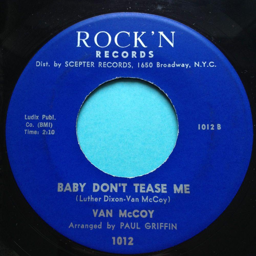 Van McCoy - Baby don't tease me - Rock'n - Ex