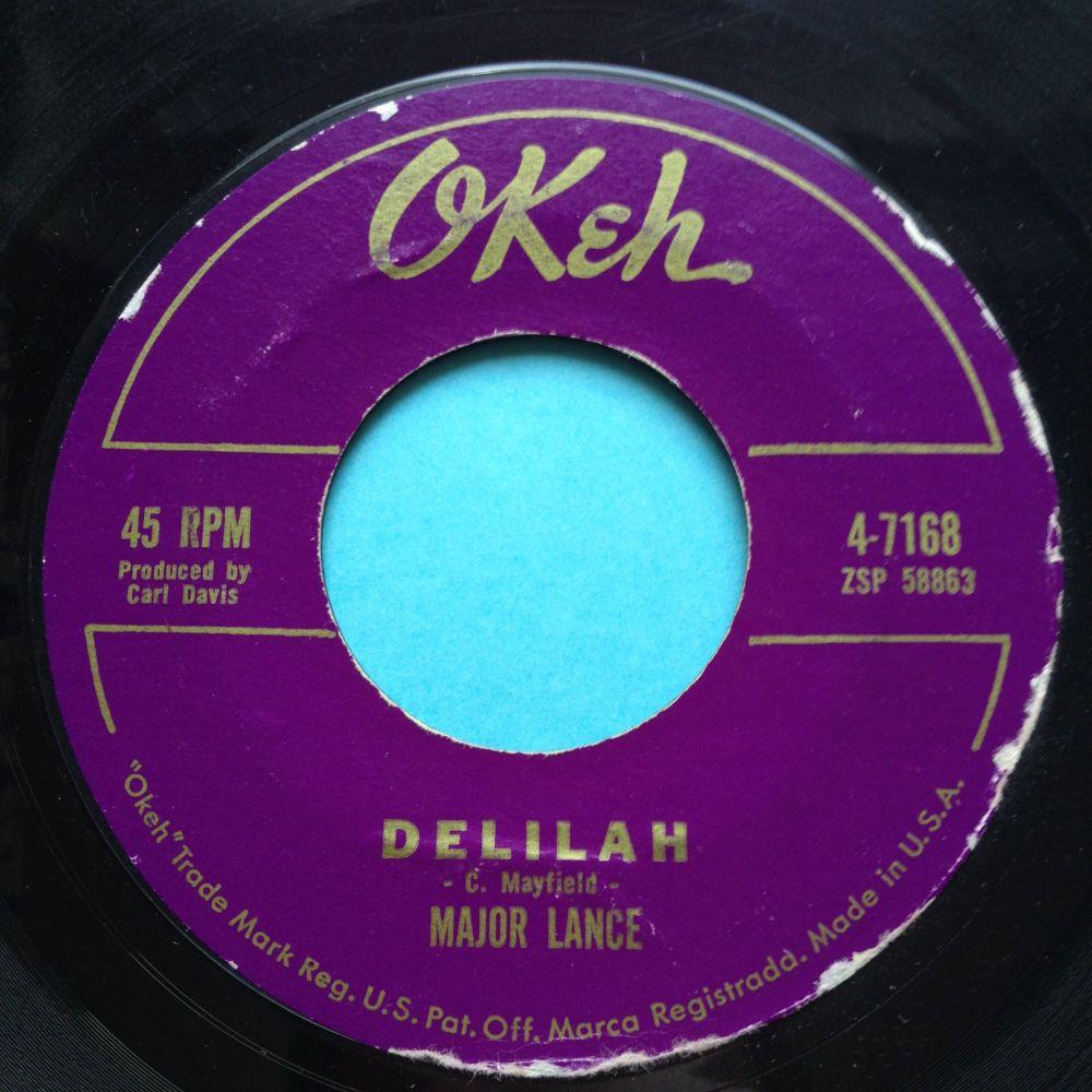 Major Lance - Delilah - Okeh - Ex-