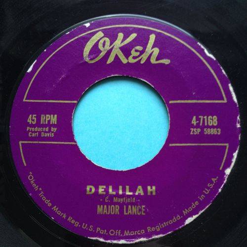 Major Lance - Delilah - Okeh - Ex-