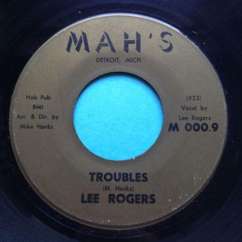 Lee Rogers - Troubles - Mah's - VG+