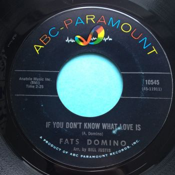 Fats Domino - If you don't know what love is - ABC - Ex
