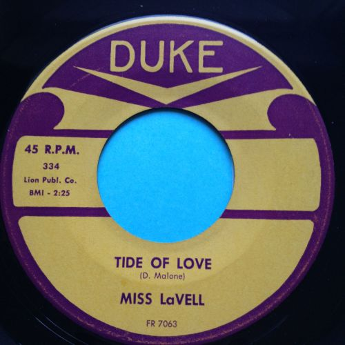 Miss Lavell - Tide of love - Duke - Ex