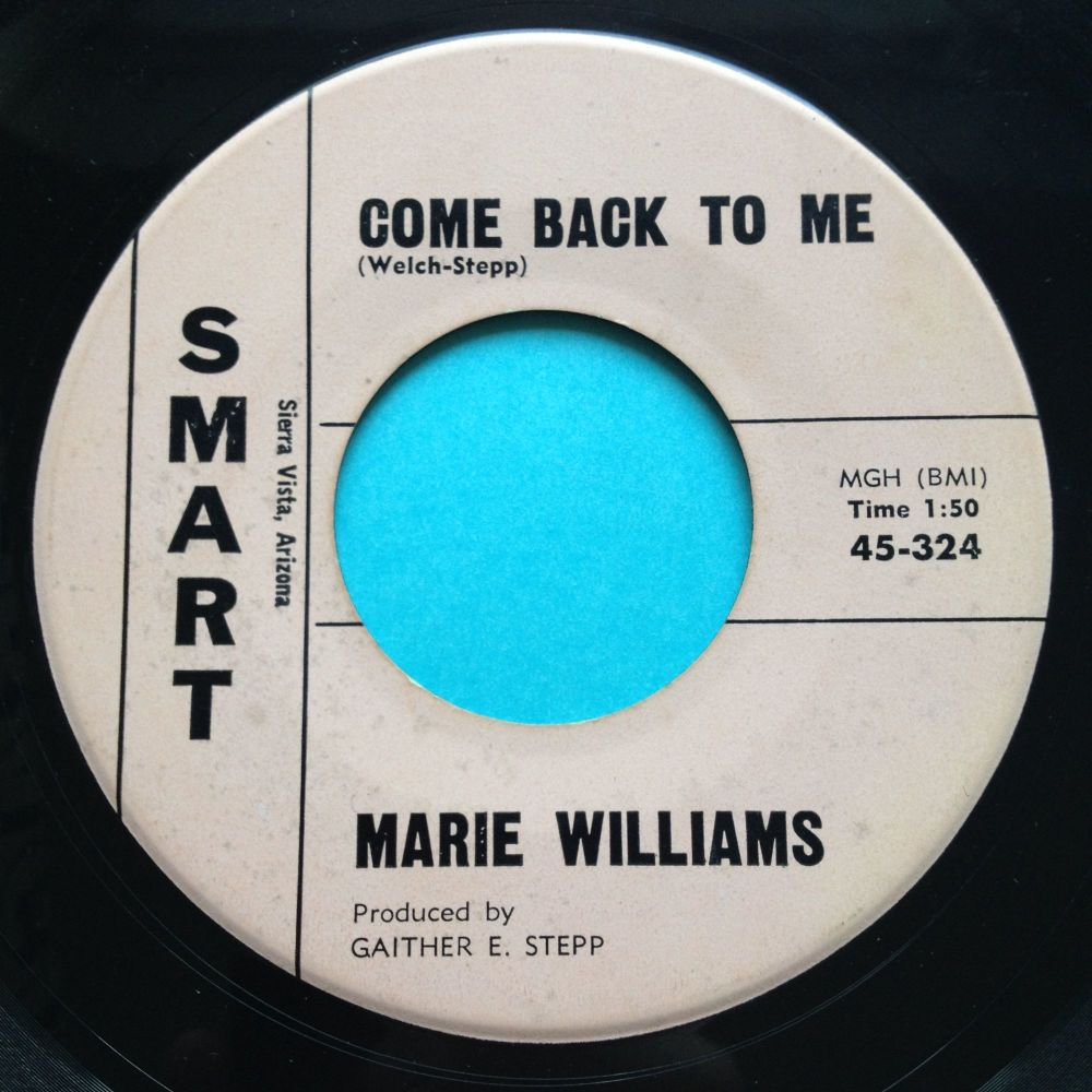 Marie Williams - Cat Scratching b/w Come back to me - Smart - Ex
