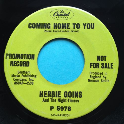 Herbie Goins - Coming home to you - Capitol promo - Ex
