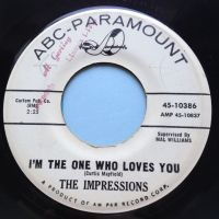 Impressions - I'm the one who loves you - ABC promo - VG+