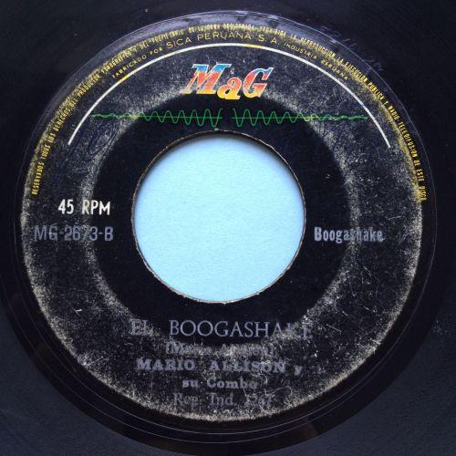 Mario Allison - El Boogashake - Mag - VG+
